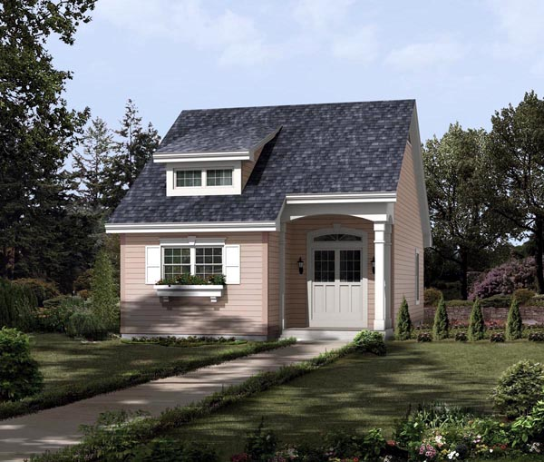 Contemporary Traditional Elevation of Plan 95813