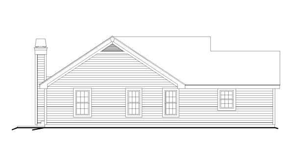 Ranch, Traditional House Plan 95819 with 3 Beds, 2 Baths, 2 Car Garage Picture 1