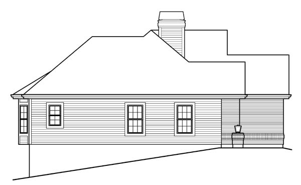 Country, Craftsman, Ranch, Traditional House Plan 95823 with 4 Beds, 3 Baths, 2 Car Garage Picture 1