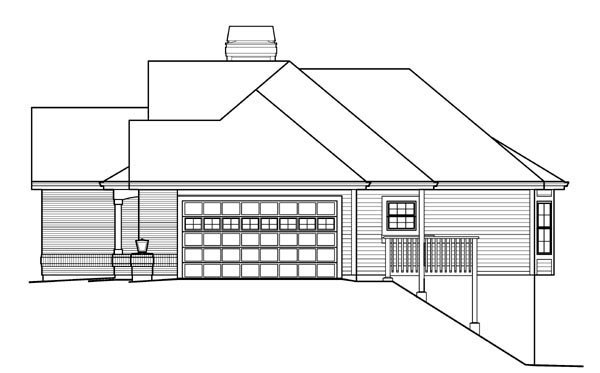 Country, Craftsman, Ranch, Traditional House Plan 95823 with 4 Beds, 3 Baths, 2 Car Garage Picture 2