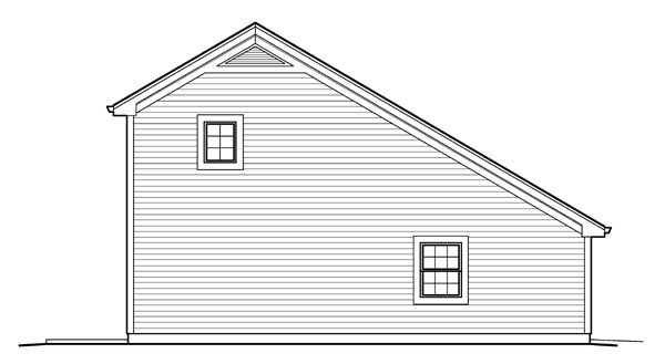 Country Saltbox Garage Plan 95826 – Saltbox Garage Plans