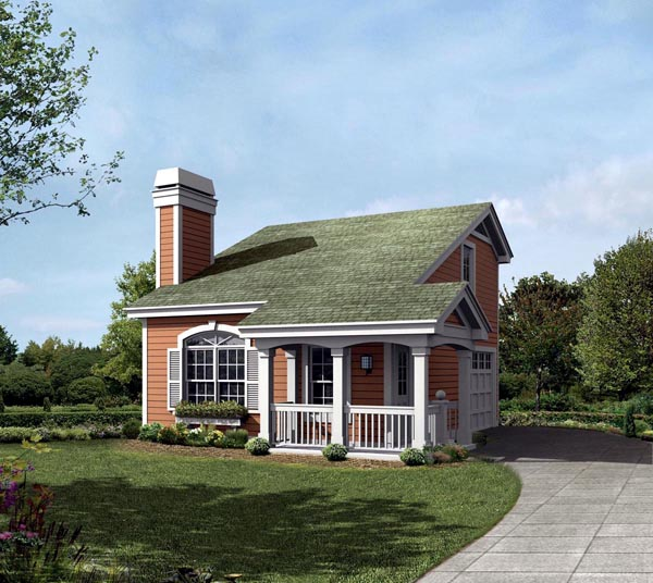 Country House Plan 95829 Elevation