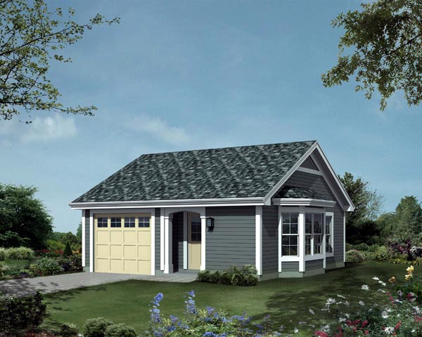 Ranch Traditional Elevation of Plan 95834