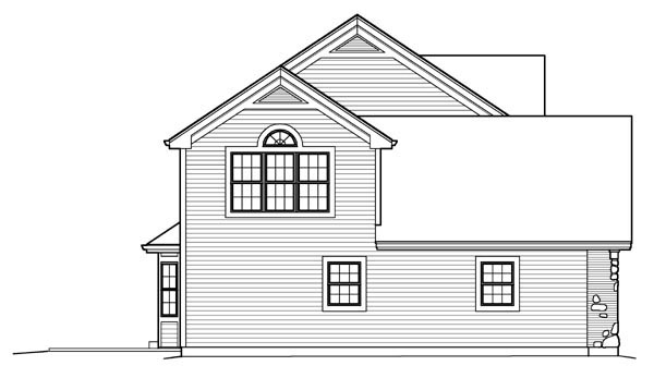 Country, Traditional House Plan 95835 with 4 Beds, 3 Baths, 2 Car Garage Picture 1