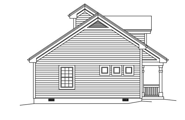 Contemporary, Country, Ranch Multi-Family Plan 95861 with 4 Beds, 2 Baths Picture 1