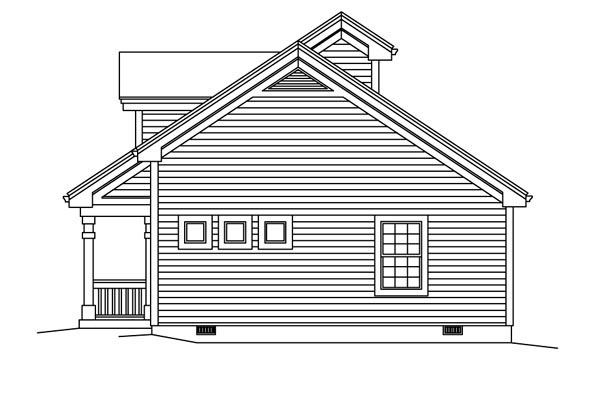 Contemporary, Country, Ranch Multi-Family Plan 95861 with 4 Beds, 2 Baths Picture 2