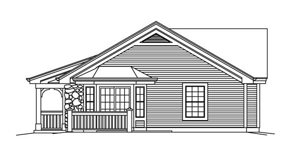 Country, Ranch Multi-Family Plan 95862 with 6 Beds, 2 Baths Picture 2