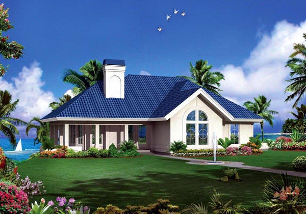 Traditional House Plan 95882 Elevation
