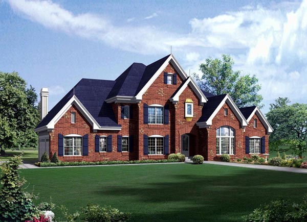 Traditional House Plan 95888 Elevation