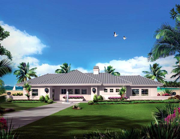 Ranch House Plan 95889 Elevation