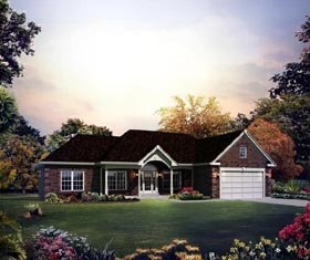 Cape Cod Colonial Country Craftsman Ranch Traditional House Plan 95894 Elevation