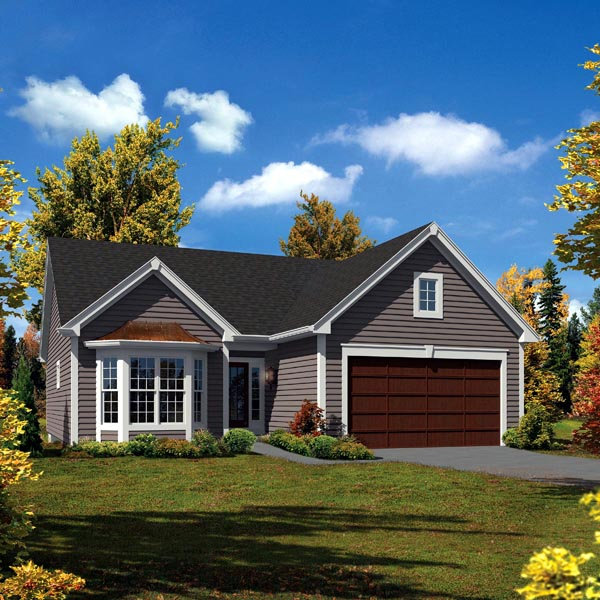 Country Cottage Elevation : Plan familyhomeplans
