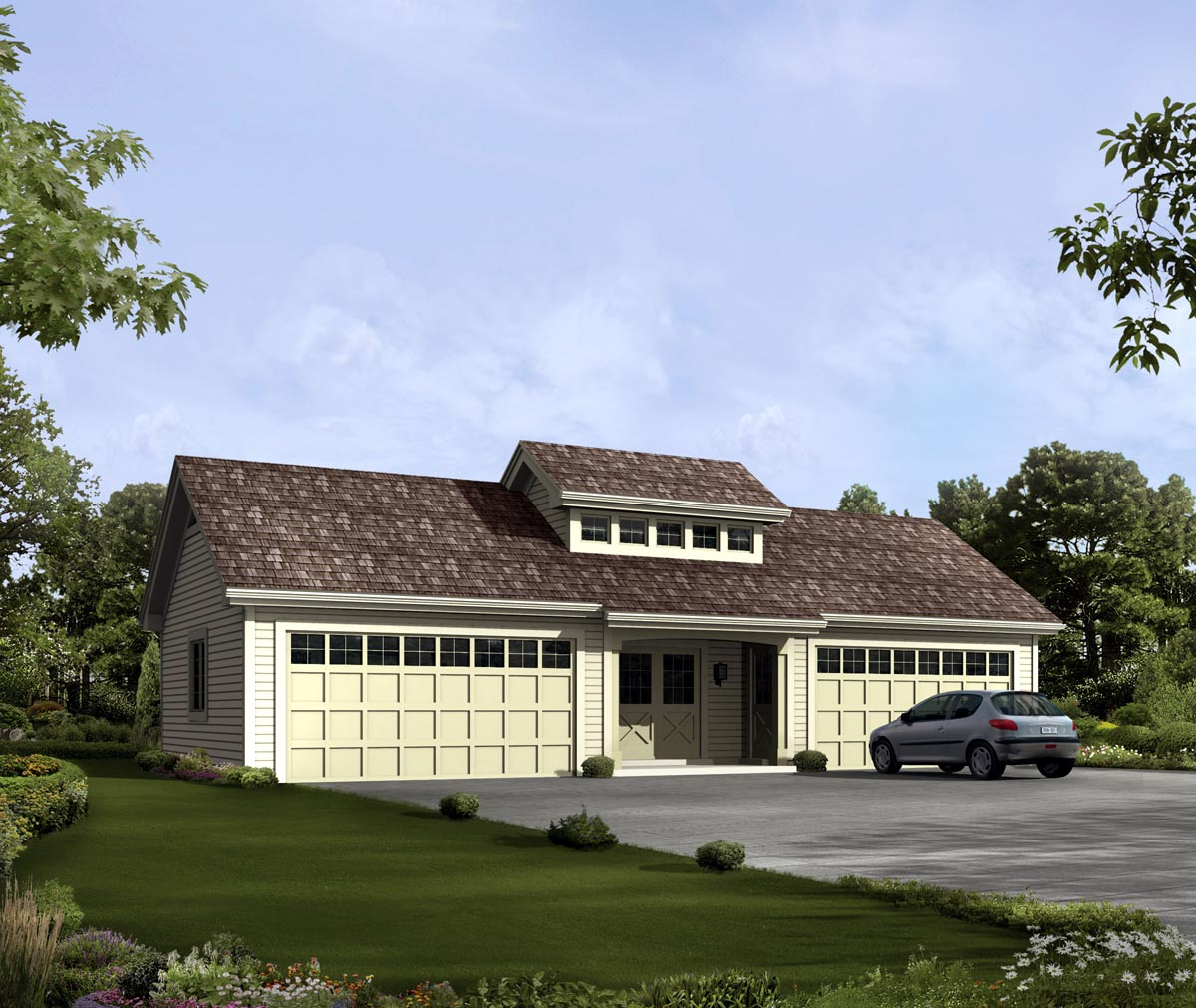 Garage Plan 95826 At Familyhomeplans Com: Garage Plan 95919 At FamilyHomePlans.com