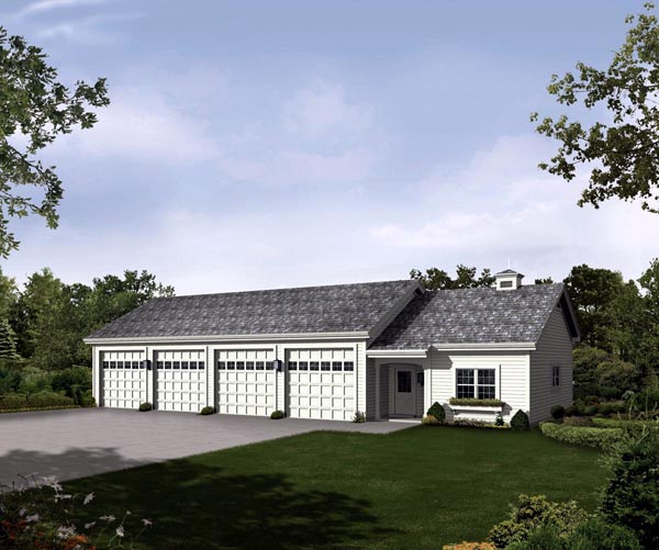 Garage Plan 95935 Elevation