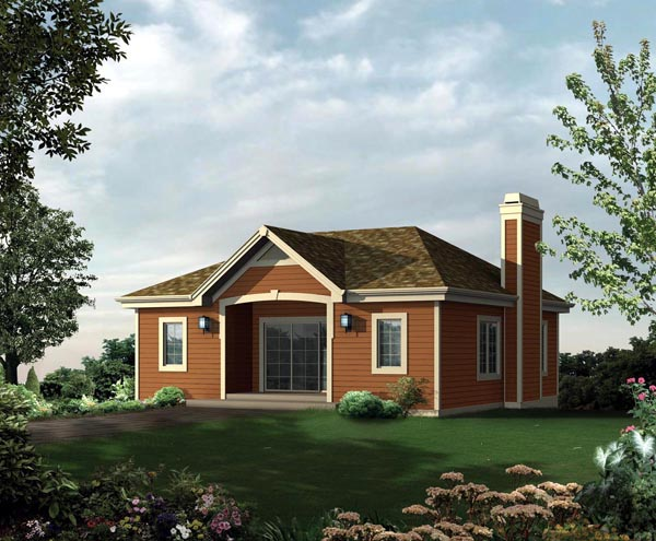 Garage Plan 95946 Elevation