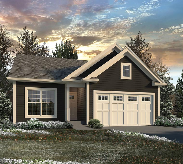 Traditional House Plan 95976 Elevation