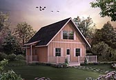 Plan Number 95986 - 1154 Square Feet