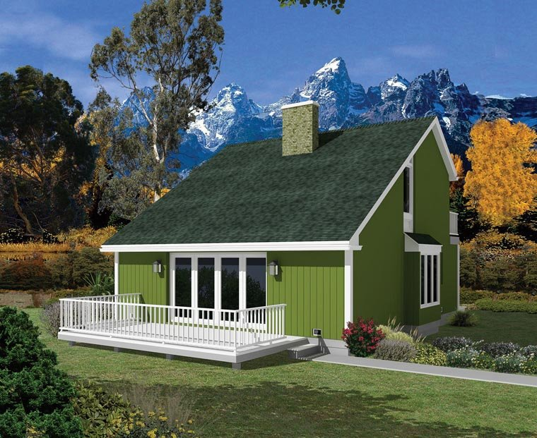 Colonial Contemporary House Plan 95994 Elevation