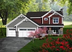 House Plan 96101 Elevation