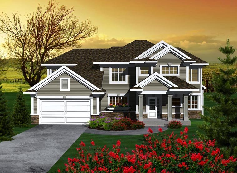 House Plan 96102 Elevation