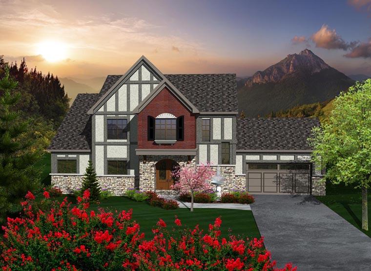 House Plan 96108 Elevation