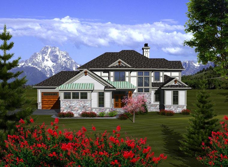 House Plan 96110 Elevation