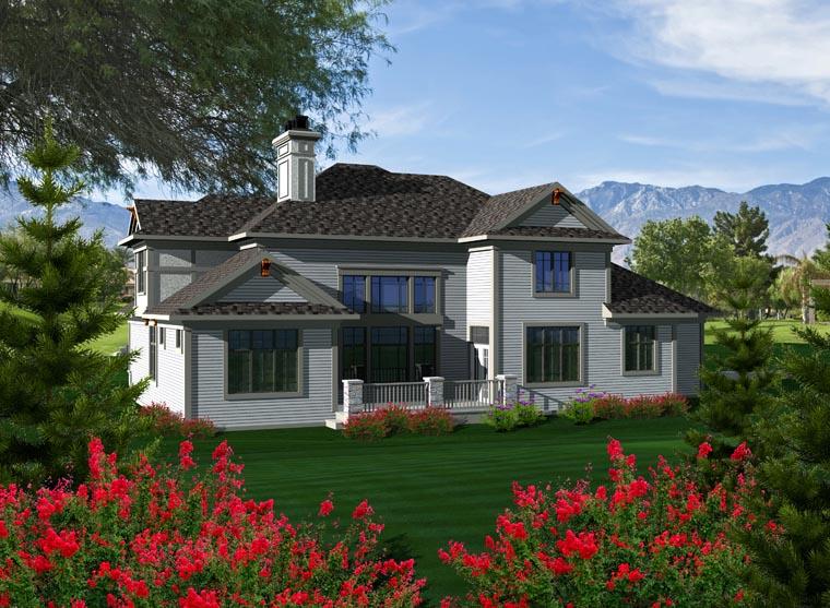 House Plan 96110 Rear Elevation