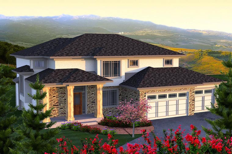 Traditional House Plan 96139 Elevation