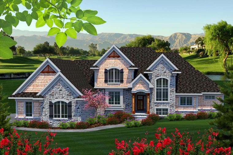 Traditional House Plan 96143 Elevation