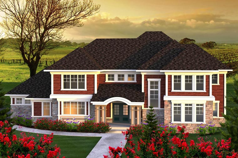 Traditional House Plan 96145 Elevation