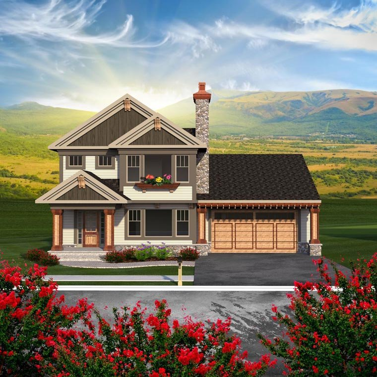 Traditional House Plan 96155 Elevation