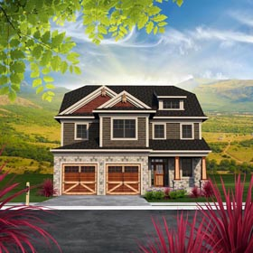 Traditional House Plan 96162 Elevation