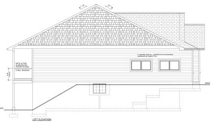 Craftsman House Plan 96200 with 2 Beds, 2 Baths, 3 Car Garage Picture 1