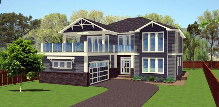 House Plan 96202 | Style Plan with 4053 Sq Ft, 5 Bedrooms, 4 Bathrooms, 2 Car Garage Elevation