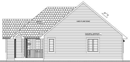 Traditional House Plan 96204 with 2 Beds, 2 Baths, 2 Car Garage Picture 2