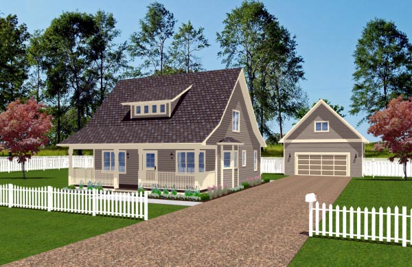 Cape Cod House Plan 96205 Elevation
