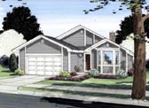 Plan Number 96206 - 1550 Square Feet