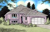 Plan Number 96207 - 1389 Square Feet