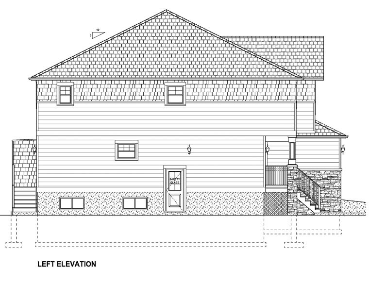 Craftsman Multi-Family Plan 96213 with 10 Beds, 8 Baths, 2 Car Garage Picture 1