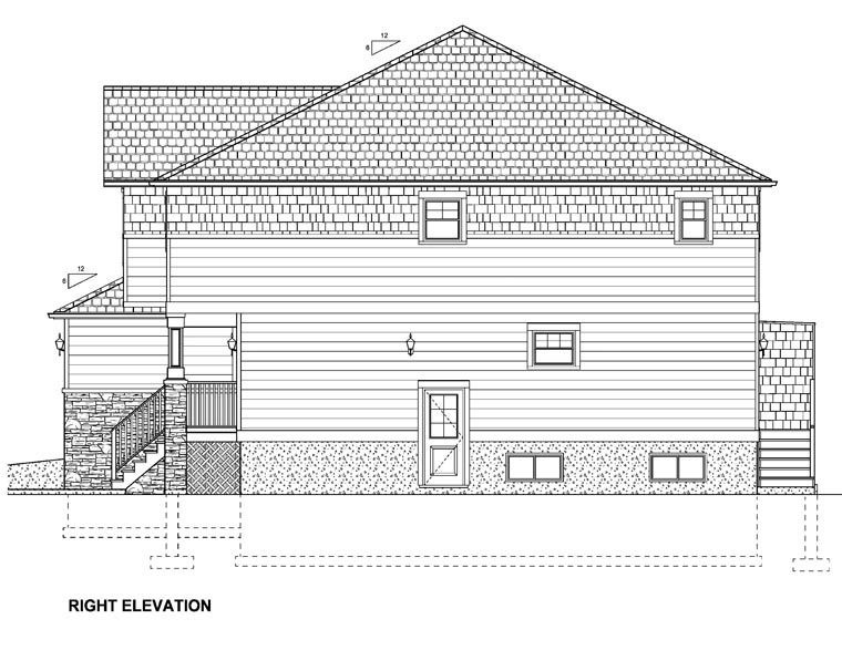 Craftsman Multi-Family Plan 96213 with 10 Beds, 8 Baths, 2 Car Garage Picture 2