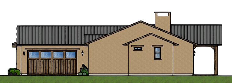 House Plan 96219 | Style Plan with 1619 Sq Ft, 3 Bedrooms, 2 Bathrooms, 2 Car Garage