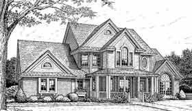 European Victorian House Plan 96301 Elevation