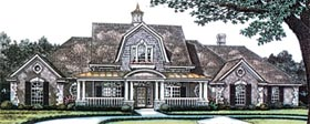 Victorian , Farmhouse , Country , Colonial House Plan 96325 with 4 Beds, 4 Baths, 3 Car Garage Elevation