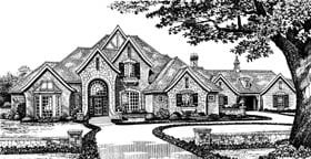Plan Number 96327 - 4047 Square Feet