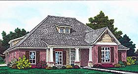 Cottage , Country , Craftsman , French Country House Plan 96333 with 4 Beds, 4 Baths, 3 Car Garage Elevation