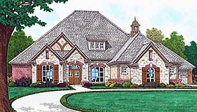 European French Country House Plan 96338 Elevation