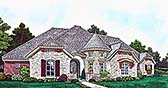 Plan Number 96343 - 3061 Square Feet