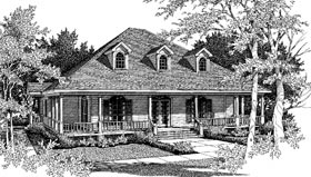 Country European House Plan 96500 Elevation