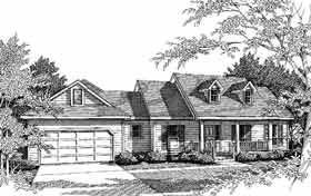 Country House Plan 96506 Elevation