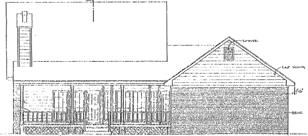 Country House Plan 96512 Rear Elevation